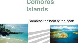 C omoros Islands