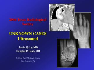 2004 Texas Radiological Society