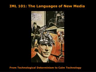 From Technological Determinism to Calm Technology