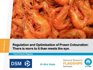 Regulation and Optimisation of Prawn Colouration: There is more to it than meets the eye.