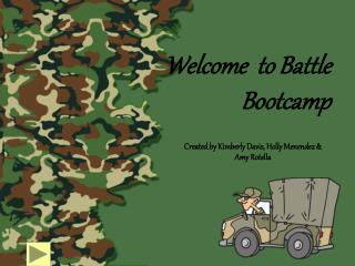 Welcome  to Battle Bootcamp