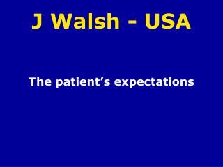 J Walsh - USA