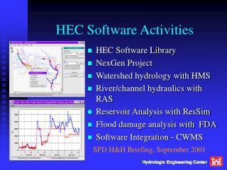HEC Software Activities