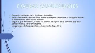 FIGURAS CONGRUENTES
