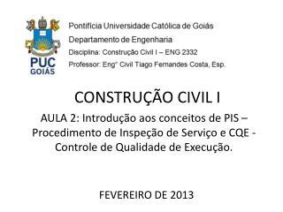 FEVEREIRO DE 2013