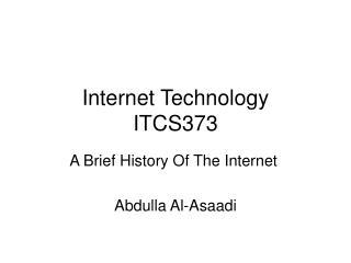 Internet Technology ITCS373