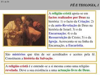 FÉ E TEOLOGIA, 1