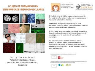 GRUPO DE ESTUDIO ENFERMEDADES NEUROMUSCULARES