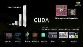 100M CUDA GPUs
