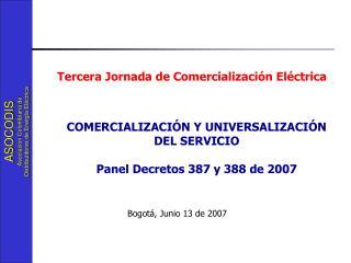 Bogotá, Junio 13 de 2007