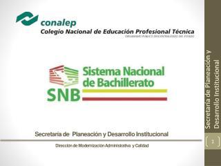 Dirección de Modernización Administrativa  y Calidad