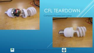 CFL Teardown