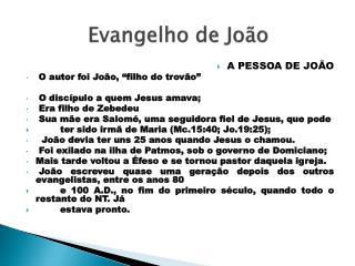 Evangelho de João