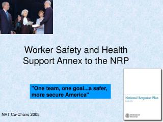 Worker Safety and Health Support Annex to the NRP