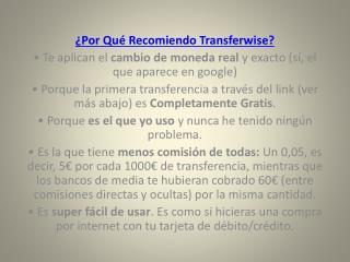 soporte de transferwise