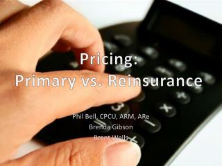 Pricing: Primary vs. Reinsurance