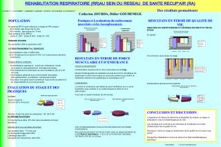 REHABILITATION RESPIRATOIRE (RR)AU SEIN DU RESEAU  DE SANTE RECUP'AIR (RA)