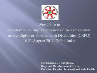 Workshop to  Accelerate the Implementation of the Convention