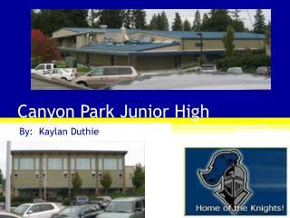 Canyon Park Junior High