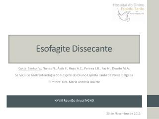 Esofagite Dissecante