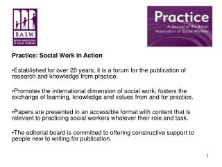 Practice: Social Work in Action