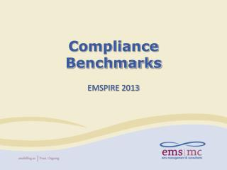 Compliance Benchmarks
