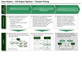 Case History – VVA Expert Opinion – Transfer Pricing