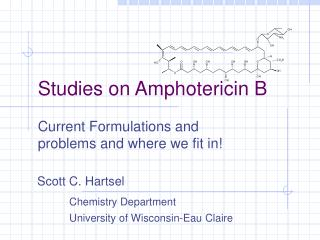 Studies on Amphotericin B