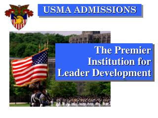 The Premier Institution for Leader Development