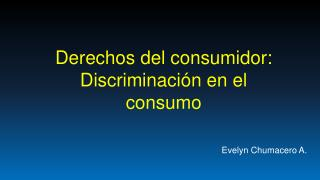 Evelyn Chumacero A.