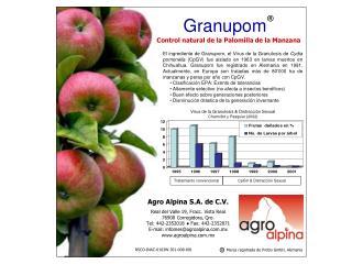 Agro Alpina S.A. de C.V. Real del Valle 19, Fracc. Vista Real 76900 Corregidora, Qro.