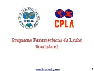 Programa Panamericano de Lucha Tradicional