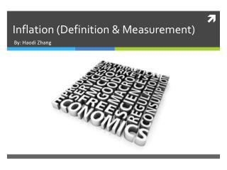 Inflation (Definition & Measurement)