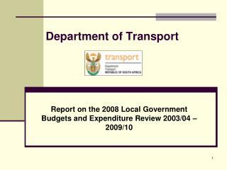 Department of Transport