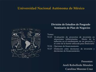 Presentan: Areli Rebolledo Morales  Carolina Moreno Cruz