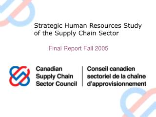 Strategic Human Resources Study of the Supply Chain Sector