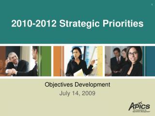 2010-2012 Strategic Priorities