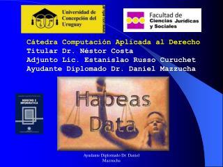 Cátedra Computación Aplicada al Derecho Titular Dr. Néstor Costa