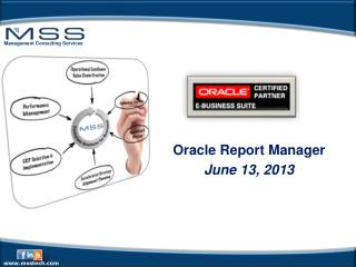 Oracle Report Manager June 13, 2013