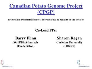 Barry Flinn SGII/BioAtlantech (Fredericton)