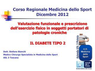 Corso Regionale Medicina dello Sport Dicembre 2012