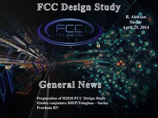 FCC Design Study