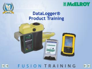 DataLogger  Product Training