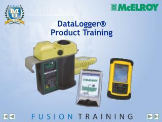 DataLogger  Product Training