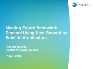 Meeting Future Bandwidth Demand Using Next Generation Satellite Architecture