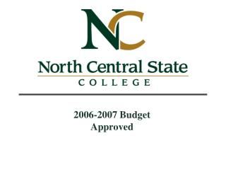 2006-2007 Budget Approved