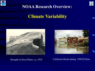 NOAA Climate Research: Climate Variability