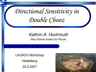 Directional Sensitivity in Double Chooz