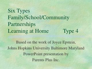 Six Types Family