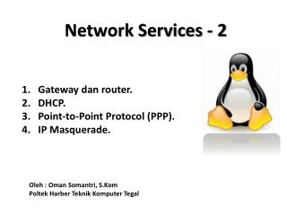 Network Services - 2
